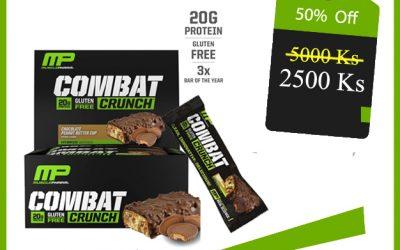MP Combat Crunch Bar